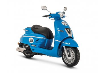 Django 125 - Sport modrá - (Blue France)