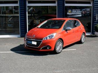 Peugeot 208 ALLURE 1.2 PureTech 110k oranžová